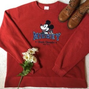 ❤️MICKEY MOUSE CLASSIC PULLOVER SWEATER❤️